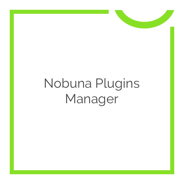 Nobuna Plugins Manager 2.6