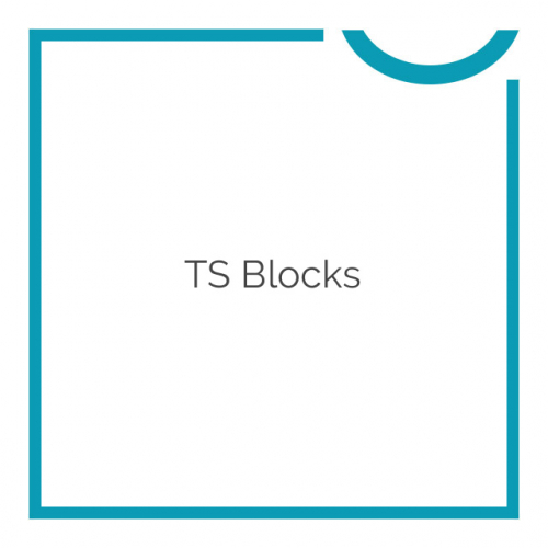 TS Blocks WordPress Plugin 0.9.0