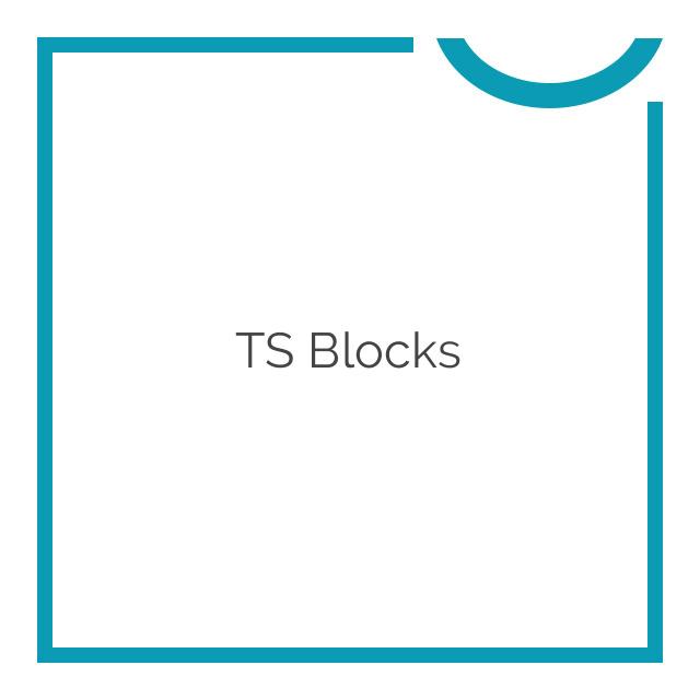 TS Blocks WordPress Plugin 0.9.0