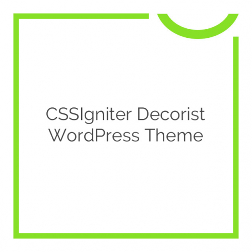 CSSIgniter Decorist WordPress Theme 1.5.1