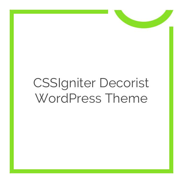 CSSIgniter Decorist WordPress Theme 1.5.1