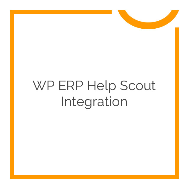 WP ERP Help Scout Integration 1.1.1