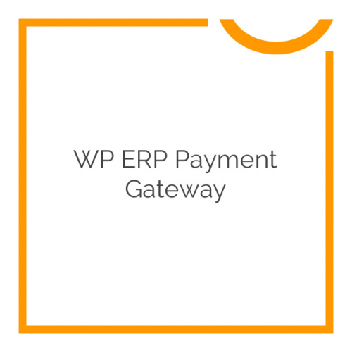 WP ERP Payment Gateway 1.0.1