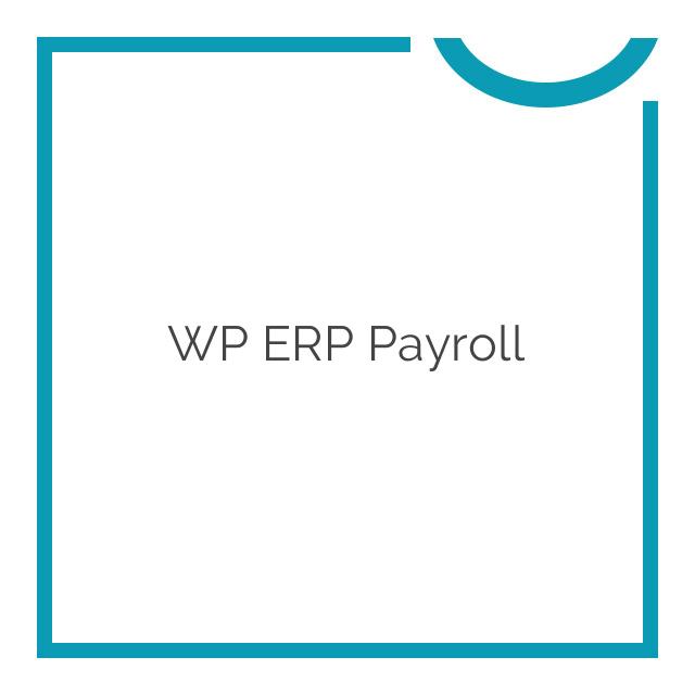 WP ERP Payroll 1.1.0