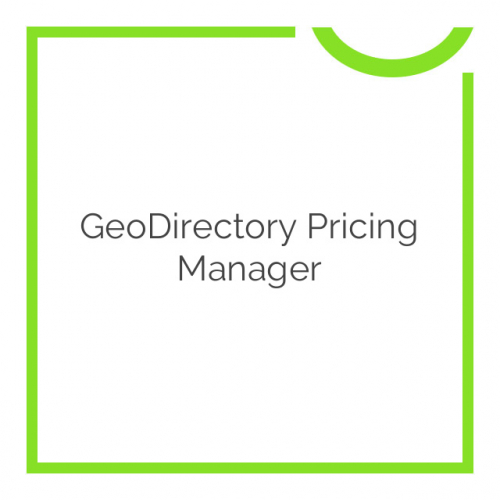 GeoDirectory Pricing Manager 2.5.0.11