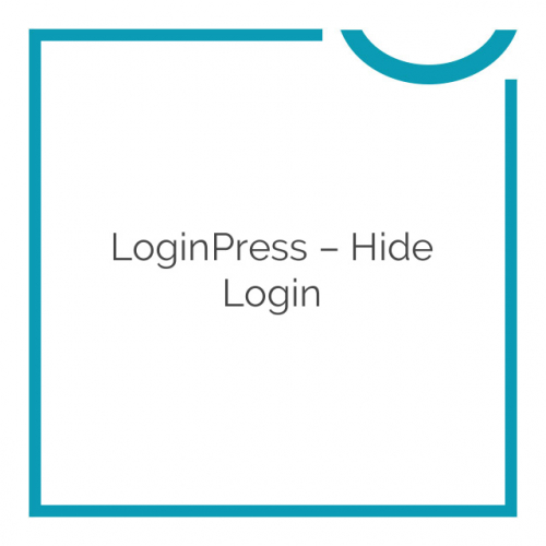 LoginPress – Hide Login 1.1.0