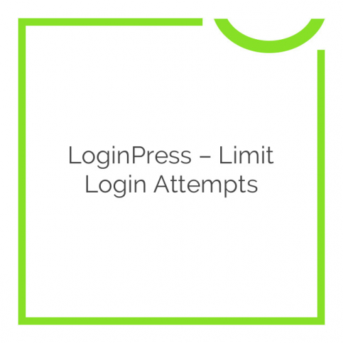 LoginPress – Limit Login Attempts 1.1.0