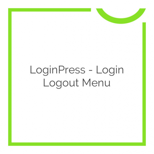 LoginPress – Login Logout Menu 1.1.0