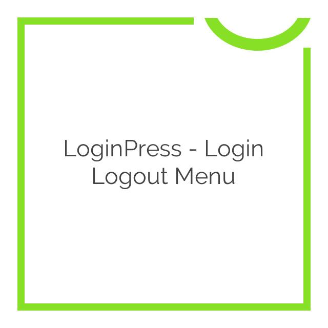 LoginPress – Login Logout Menu 1.1.0