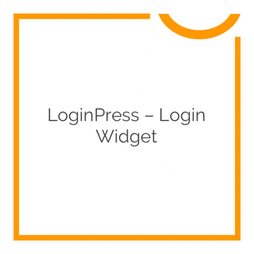 LoginPress – Login Widget 1.0.1