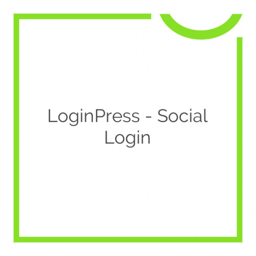 LoginPress – Social Login 1.0.5