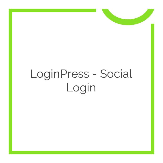 LoginPress – Social Login 1.0.5