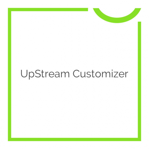 UpStream Customizer 1.1.8