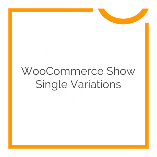 WooCommerce Show Single Variations by Iconic 1.1.16
