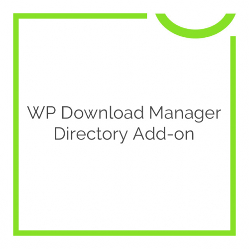 WP Download Manager Directory Add-on 2.9.9