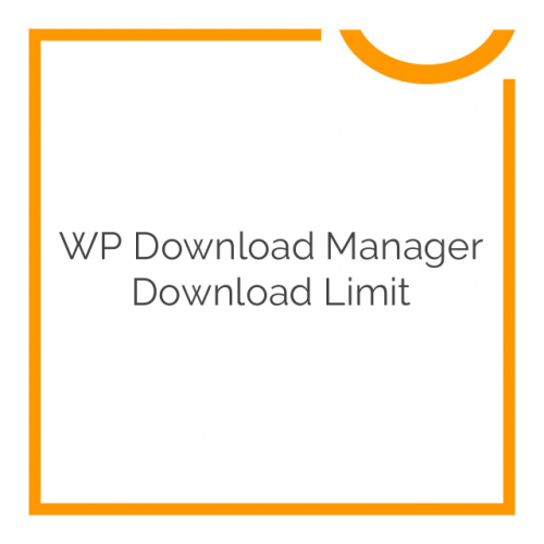 WP Download Manager Download Limit 2.4.1