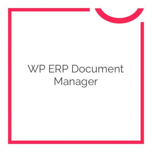 WP ERP Document Manager 1.2.0