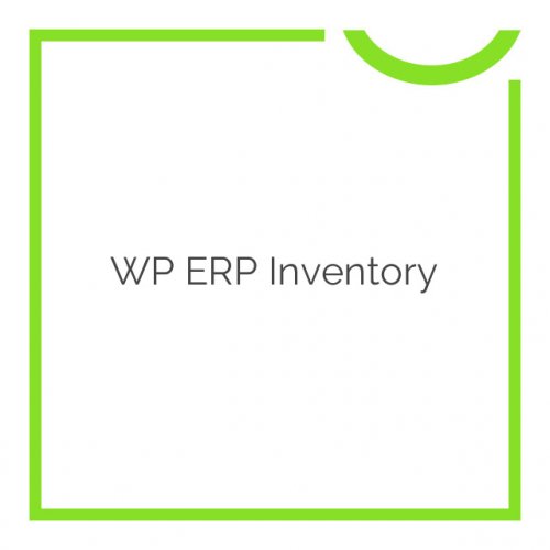 WP ERP Inventory 1.1.0