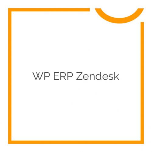 WP ERP Zendesk 1.1.0