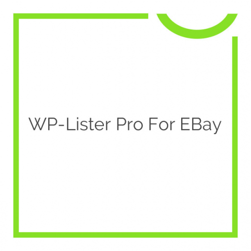 WP-Lister Pro for eBay 2.1.4
