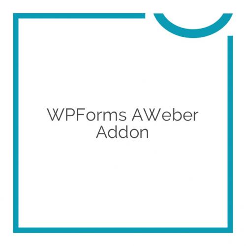 WPForms AWeber Addon 1.1.0
