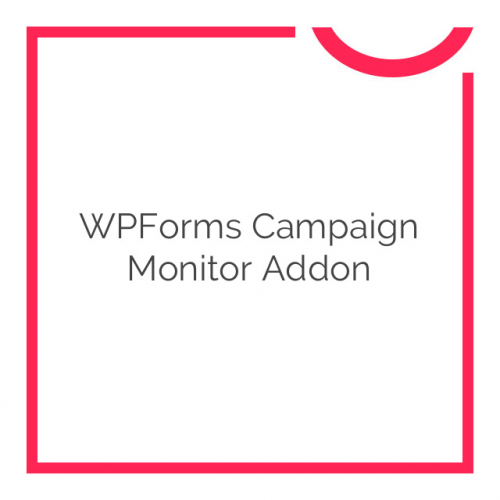WPForms Campaign Monitor Addon 1.0.4