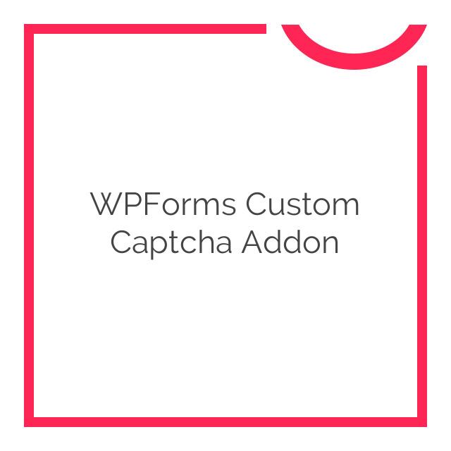 WPForms Custom Captcha Addon 1.2.0