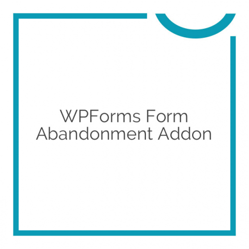 WPForms Form Abandonment Addon 1.1.0