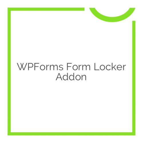 WPForms Form Locker Addon 1.1.1