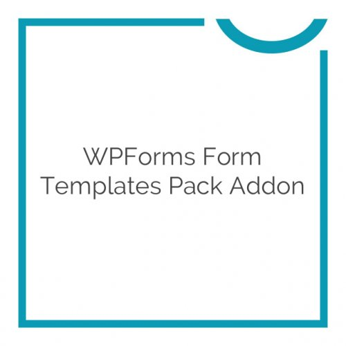 WPForms Form Templates Pack Addon 1.0.1