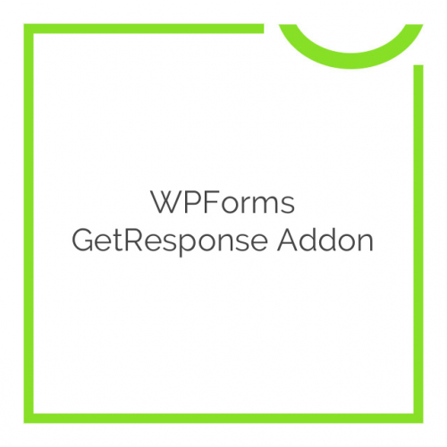 WPForms GetResponse Addon 1.1.0