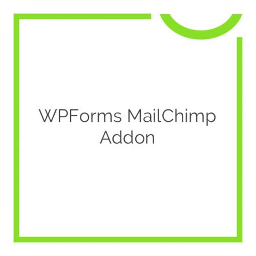 WPForms MailChimp Addon 1.3.0
