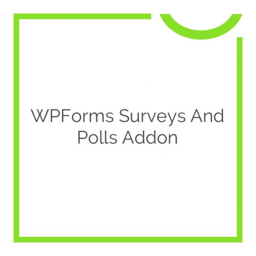 WPForms Surveys and Polls Addon 1.3.2