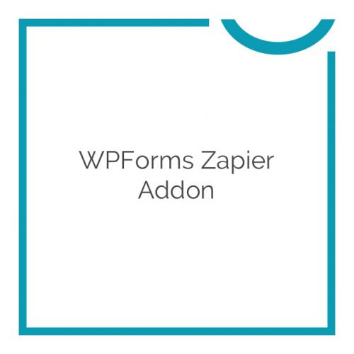 WPForms Zapier Addon 1.1.0
