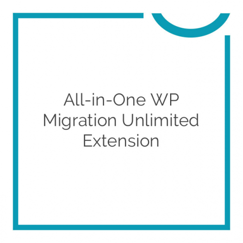 All-in-One WP Migration Unlimited Extension 2.31