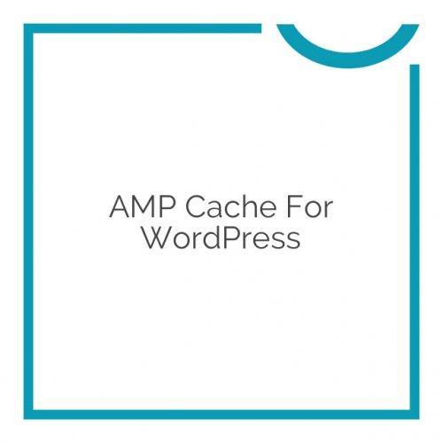 AMP Cache for WordPress 1.8