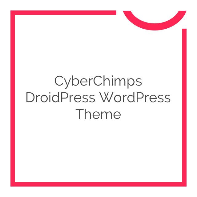CyberChimps DroidPress WordPress Theme 1.0.3