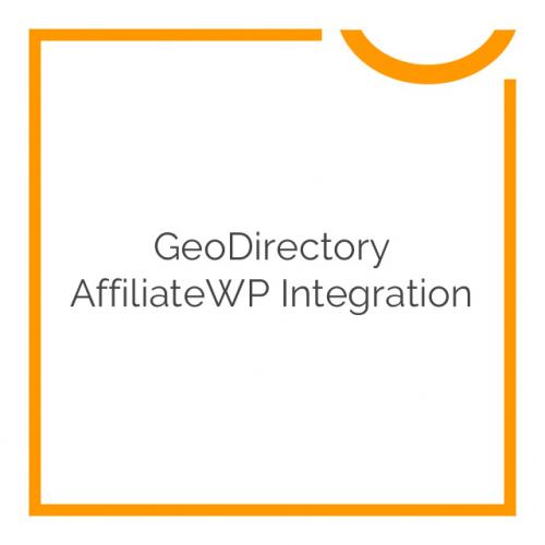 GeoDirectory AffiliateWP Integration 1.0.8