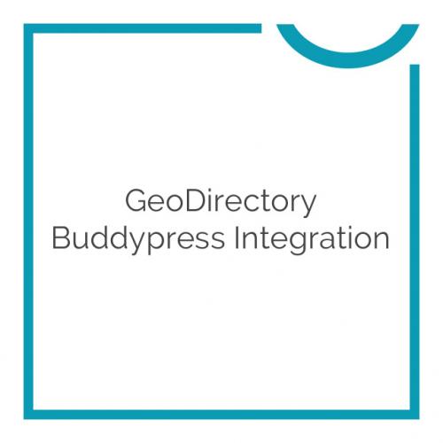 GeoDirectory Buddypress Integration 2.0.0.3