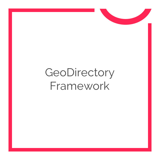 GeoDirectory Framework 2.0.0.5