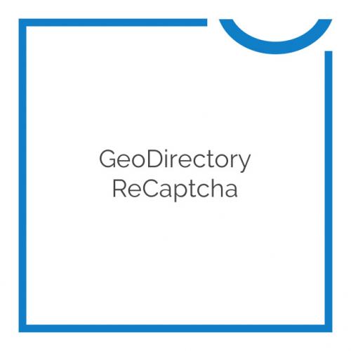 GeoDirectory ReCaptcha 2.0.0.2