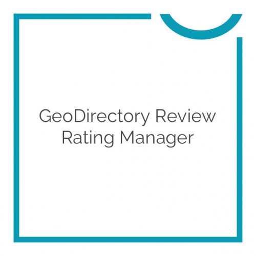 GeoDirectory Review Rating Manager 2.0.0.11