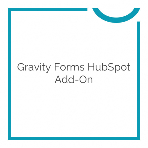 Gravity Forms HubSpot Add-On