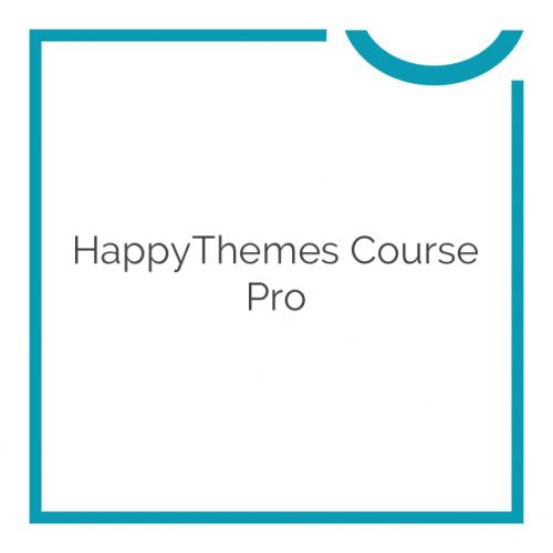 HappyThemes Course Pro 1.0