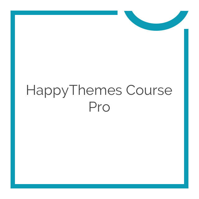 HappyThemes Course Pro 1.0