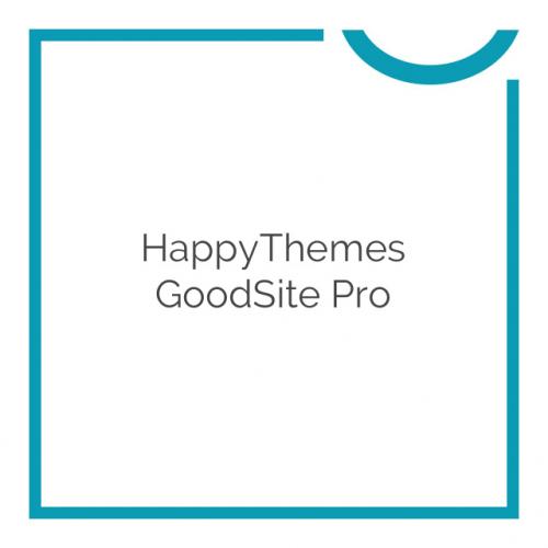 HappyThemes GoodSite Pro 1.3