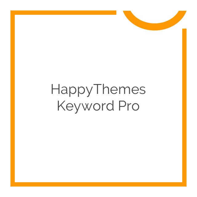 HappyThemes Keyword Pro 1.4