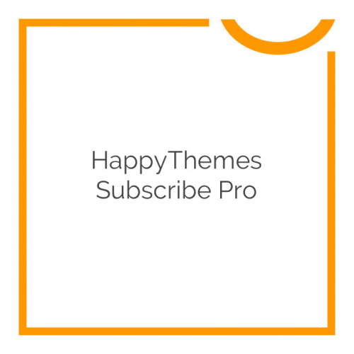 HappyThemes Subscribe Pro 1.1