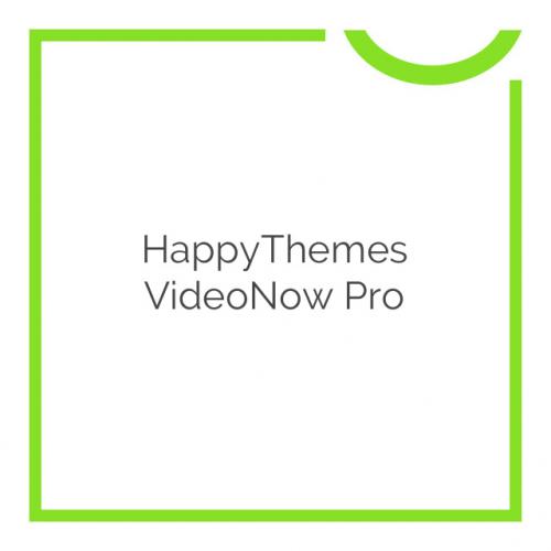 HappyThemes VideoNow Pro 1.9