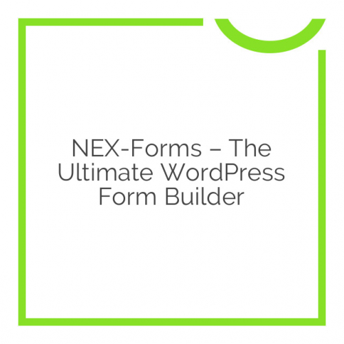 NEX-Forms – The Ultimate WordPress Form Builder 7.5.8.1